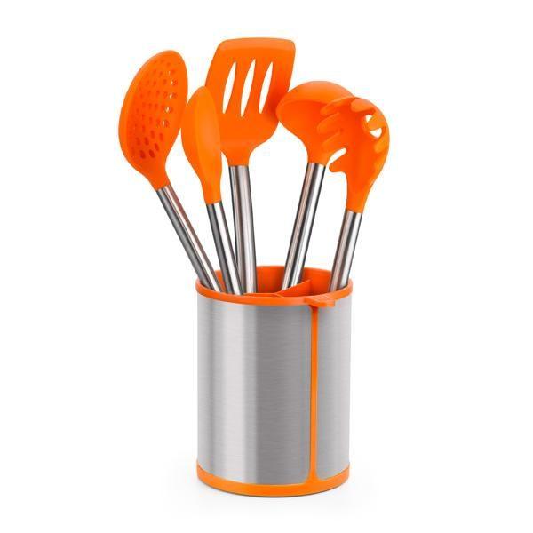 Lote utensilios de cocina y soporte Efficient - Bra