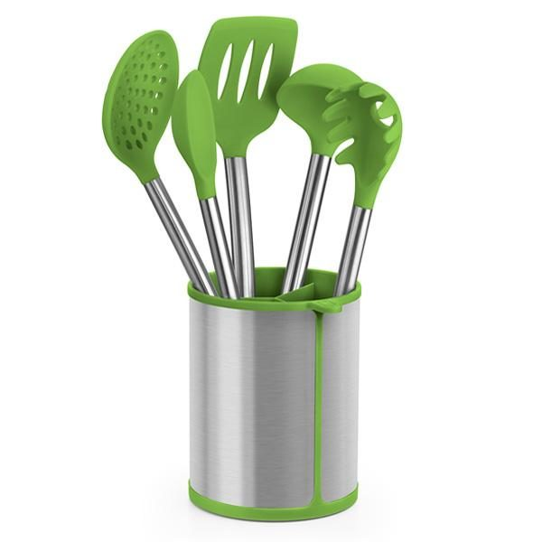 Lote utensilios de cocina y soporte Prior - Bra