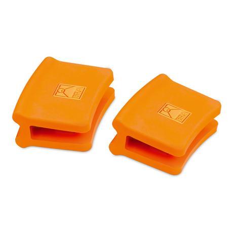 Asas de silicona paellera naranja (2 uds. Ø32-40 cm) - Bra