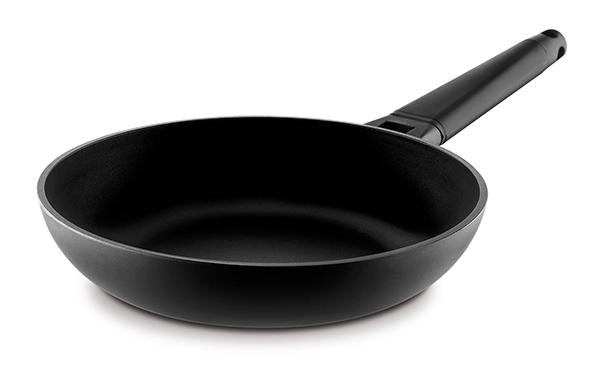 Sartén con mango desmontable negro - Castey